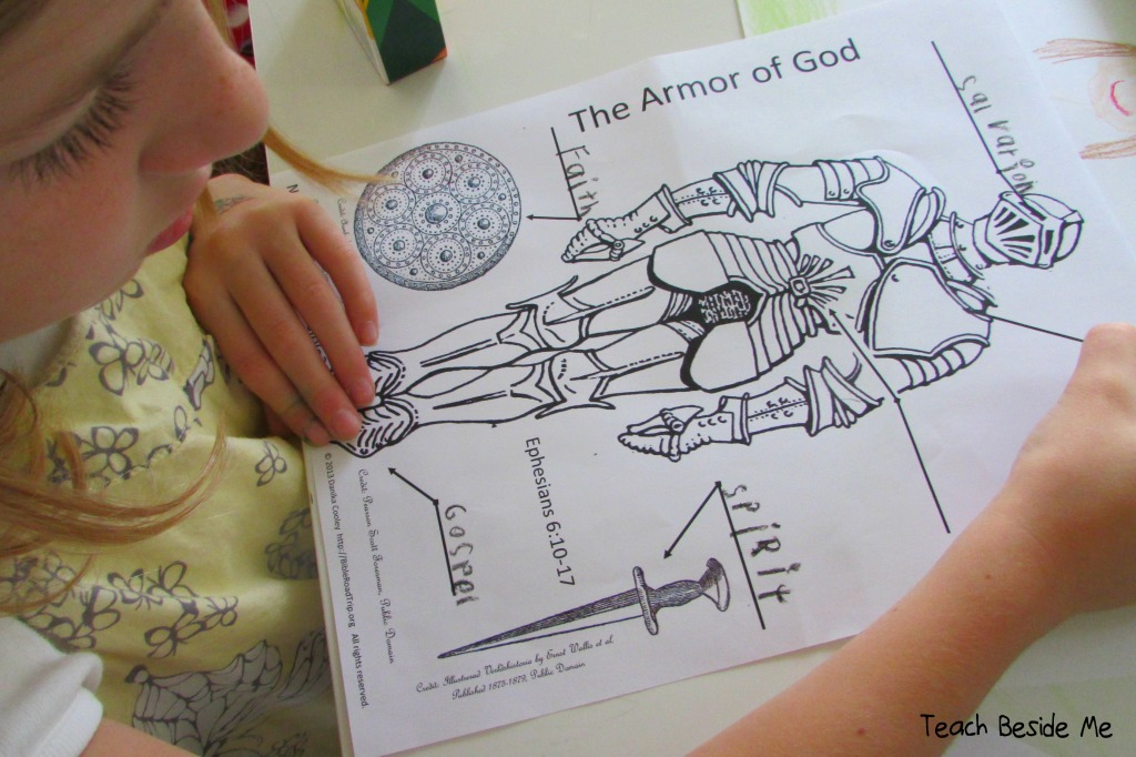 Armor of God Notebooking