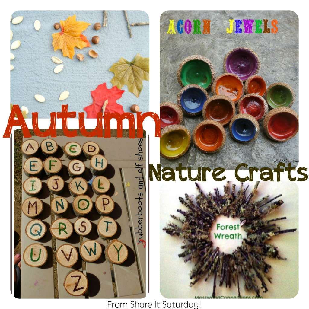 Autumn Nature Crafts