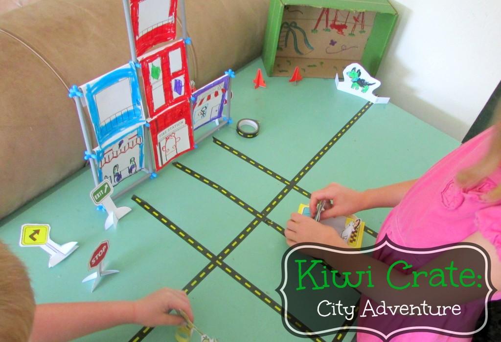 Kiwi Crate- City Adventure