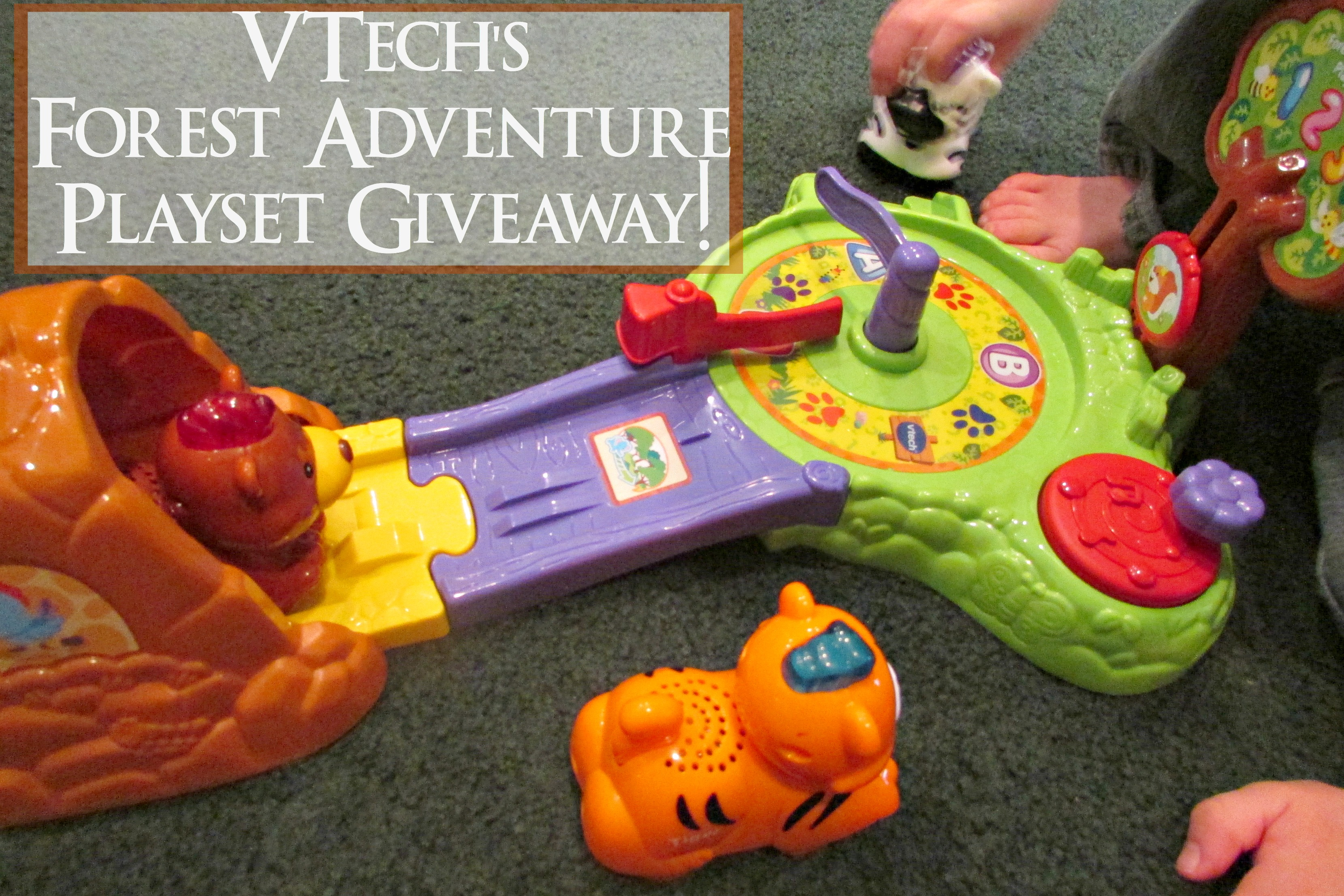 VTech Forest Adventure Playset ~ Giveaway!