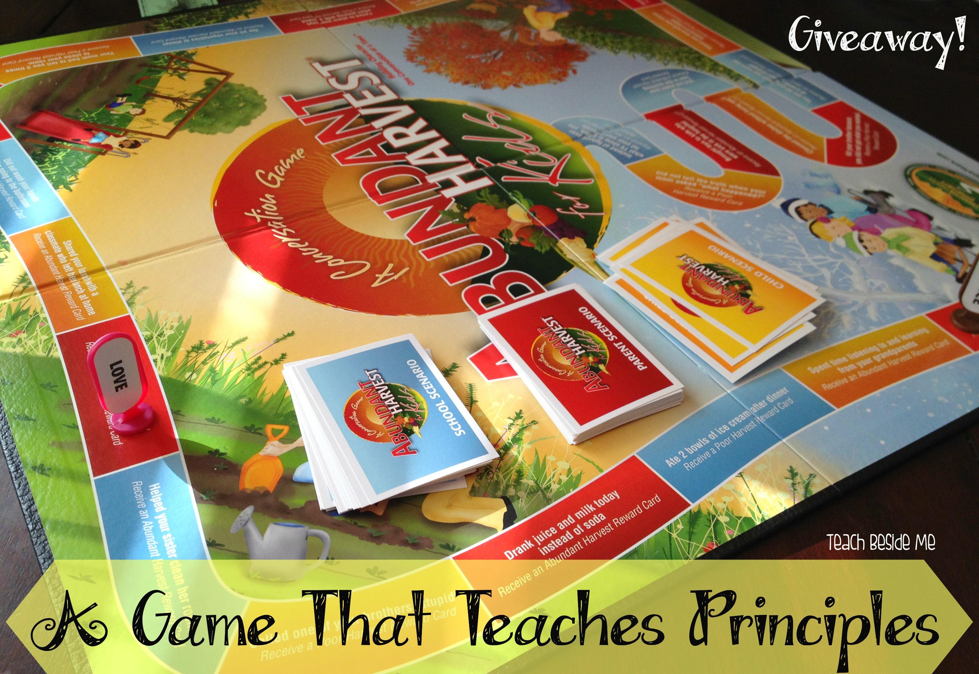 Abundant Harvest Board Game Giveaway