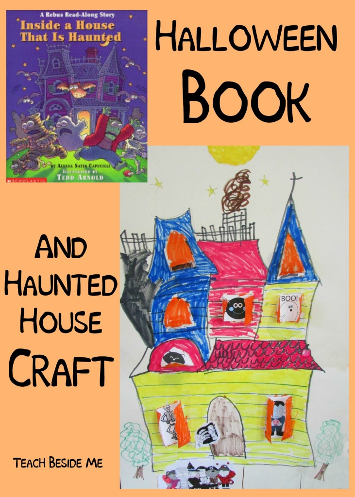 Halloween Book and Haunted House Craft