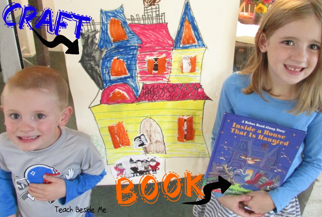 Haunted House Book & Craft Idea