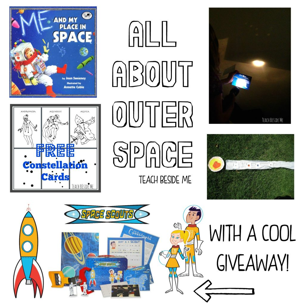 Space learning fun for kids