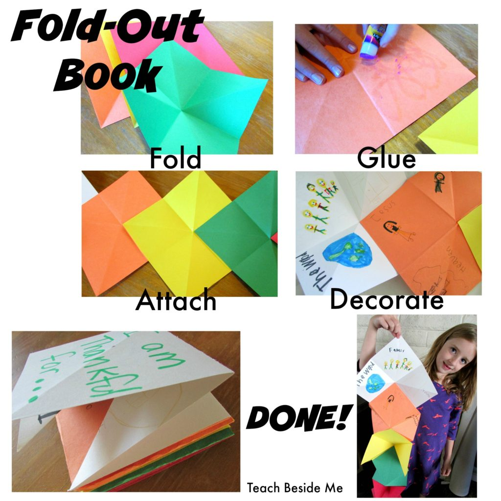 Fold Out Book Instructions