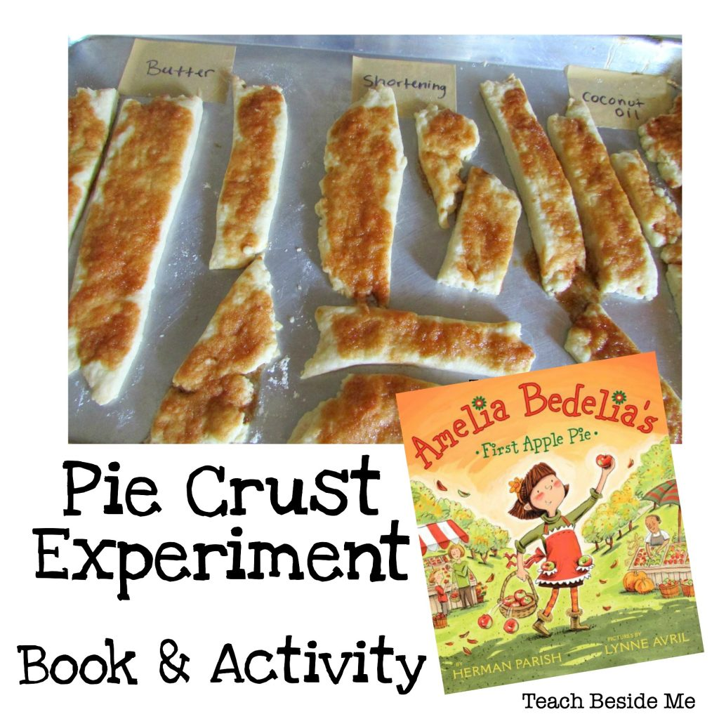 Pie Crust Experiment Book and Activity