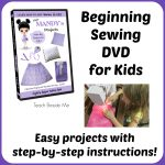 Sewing Lesson DVD for Kids