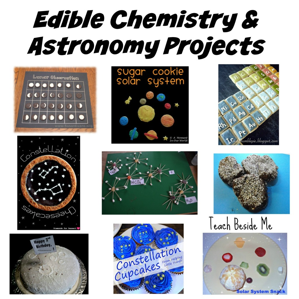Edible Chemistry and Astronomy Projects