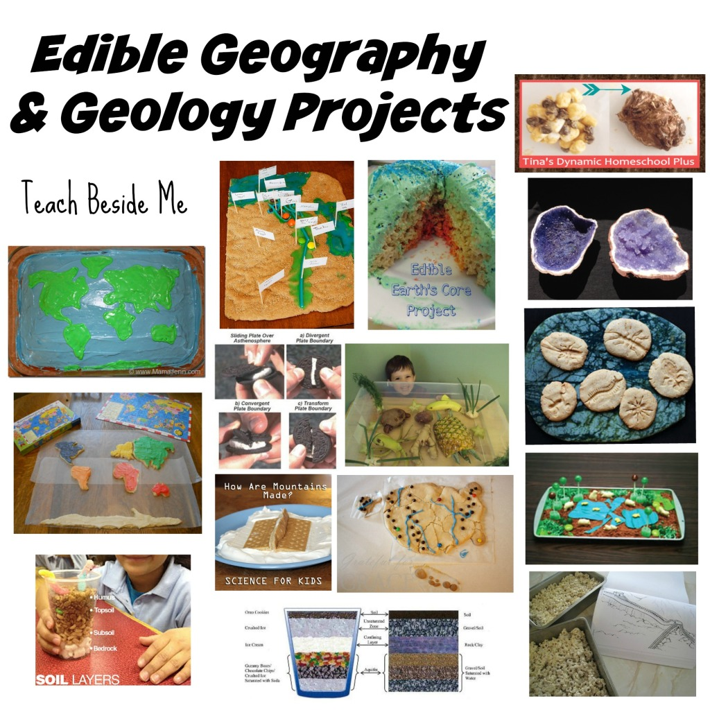 Edible Geography and Geology Projects