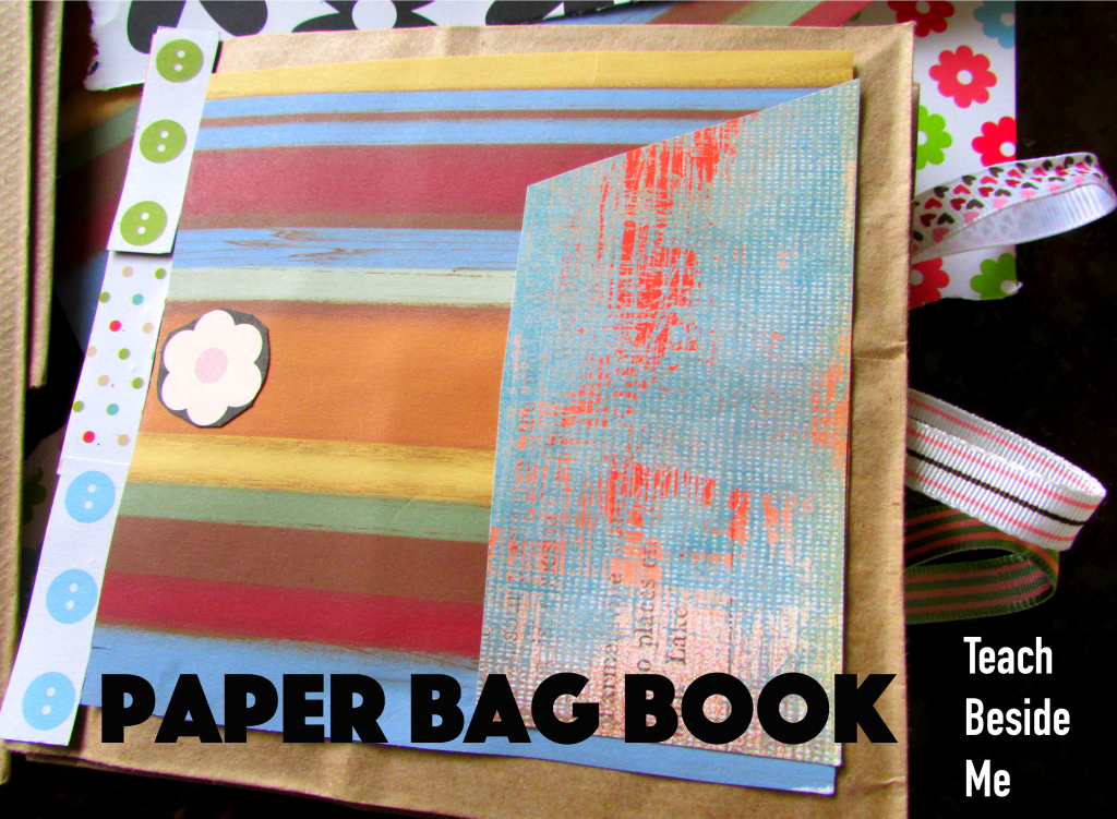 Paper Bag Book Craft Teach Beside Me