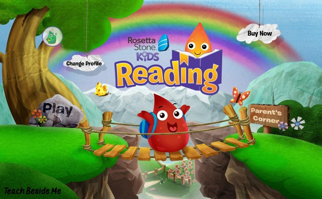 Rosetta Stone Reading Program