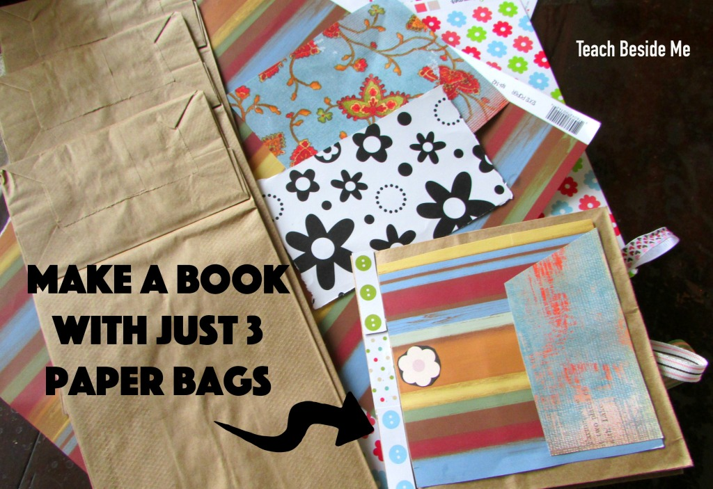 Simple Paper Bag Book