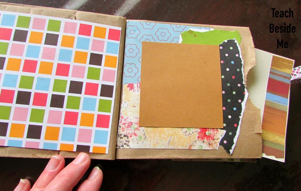 homemade mini book