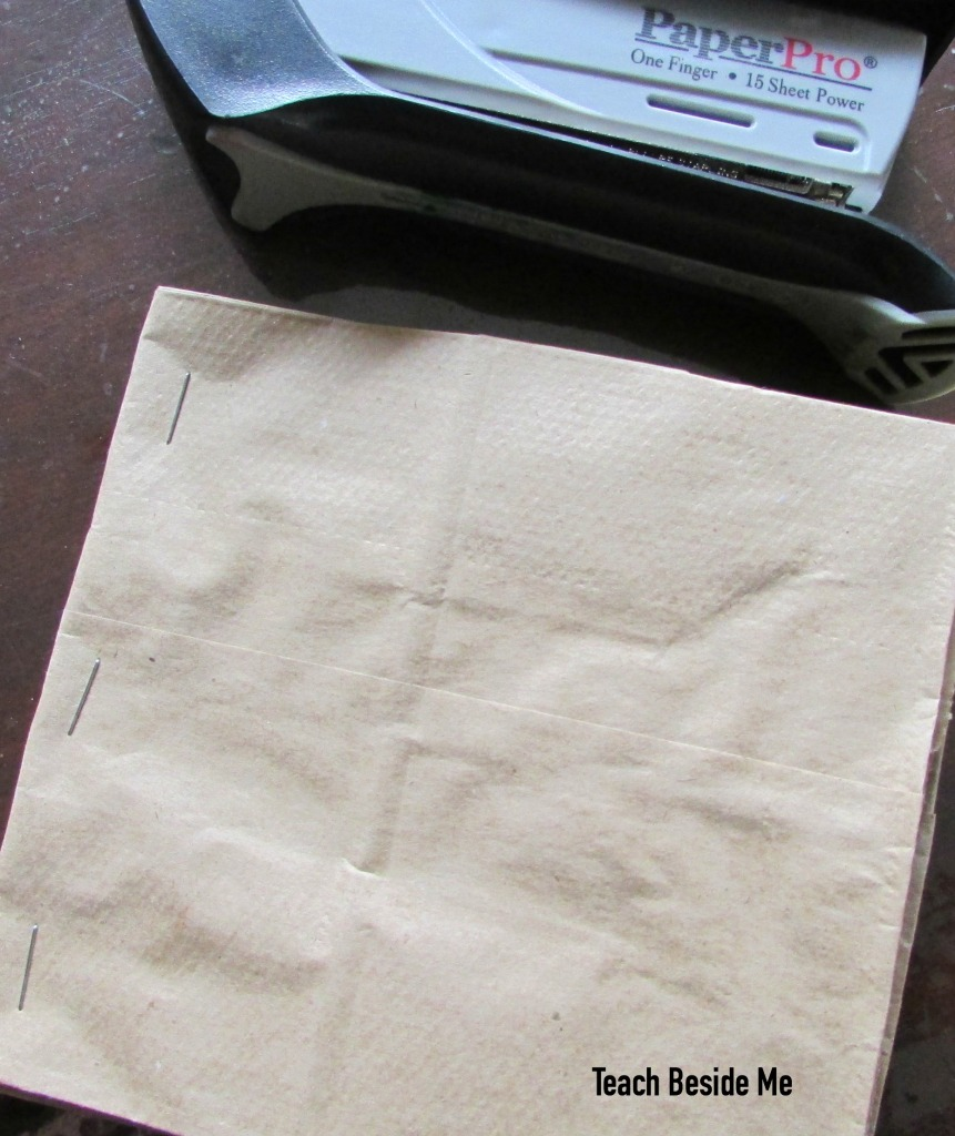make a paper bag book