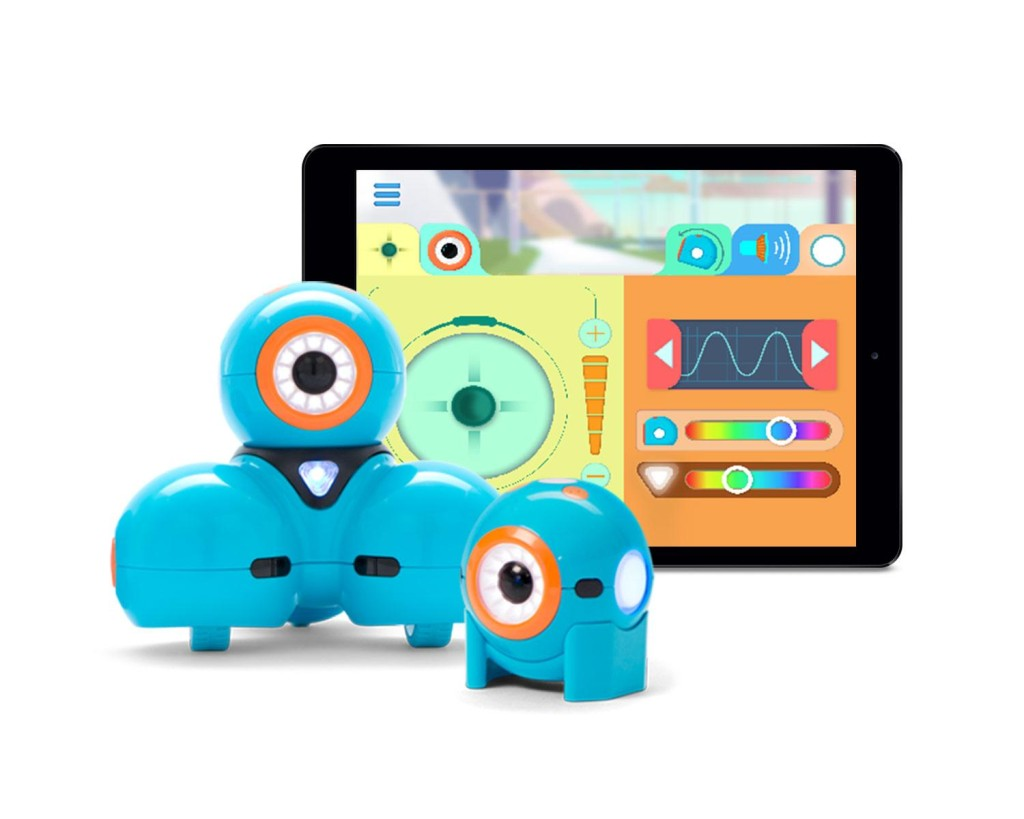Dash and Dot programmable robots