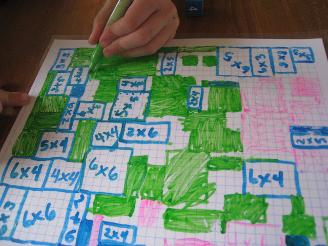 Multiplication Grid Game