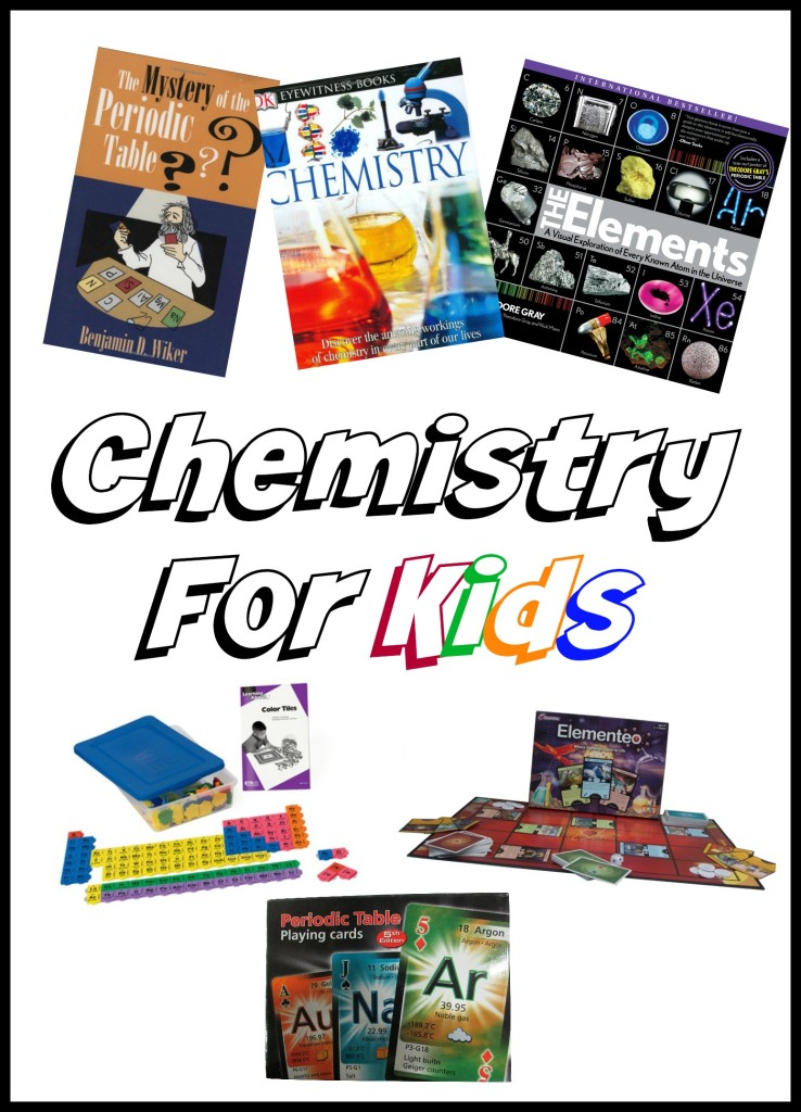 chemistry for kids- experiments, activities, games and more!