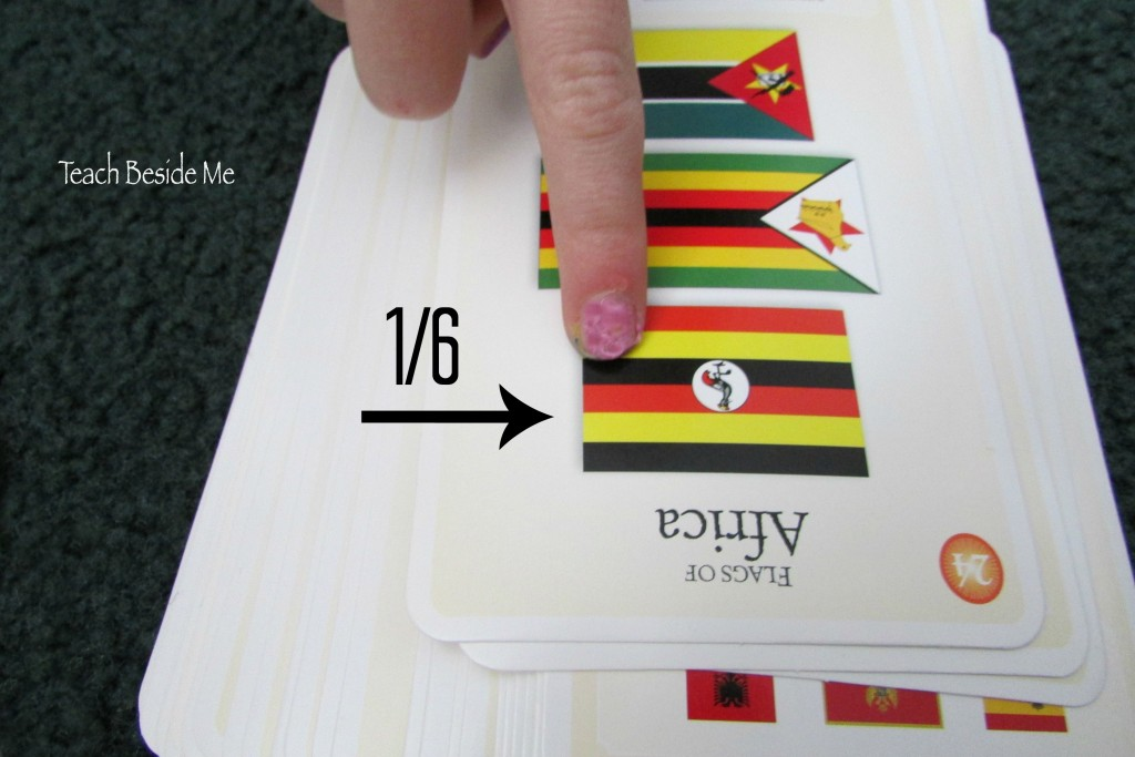 fractions on world flags