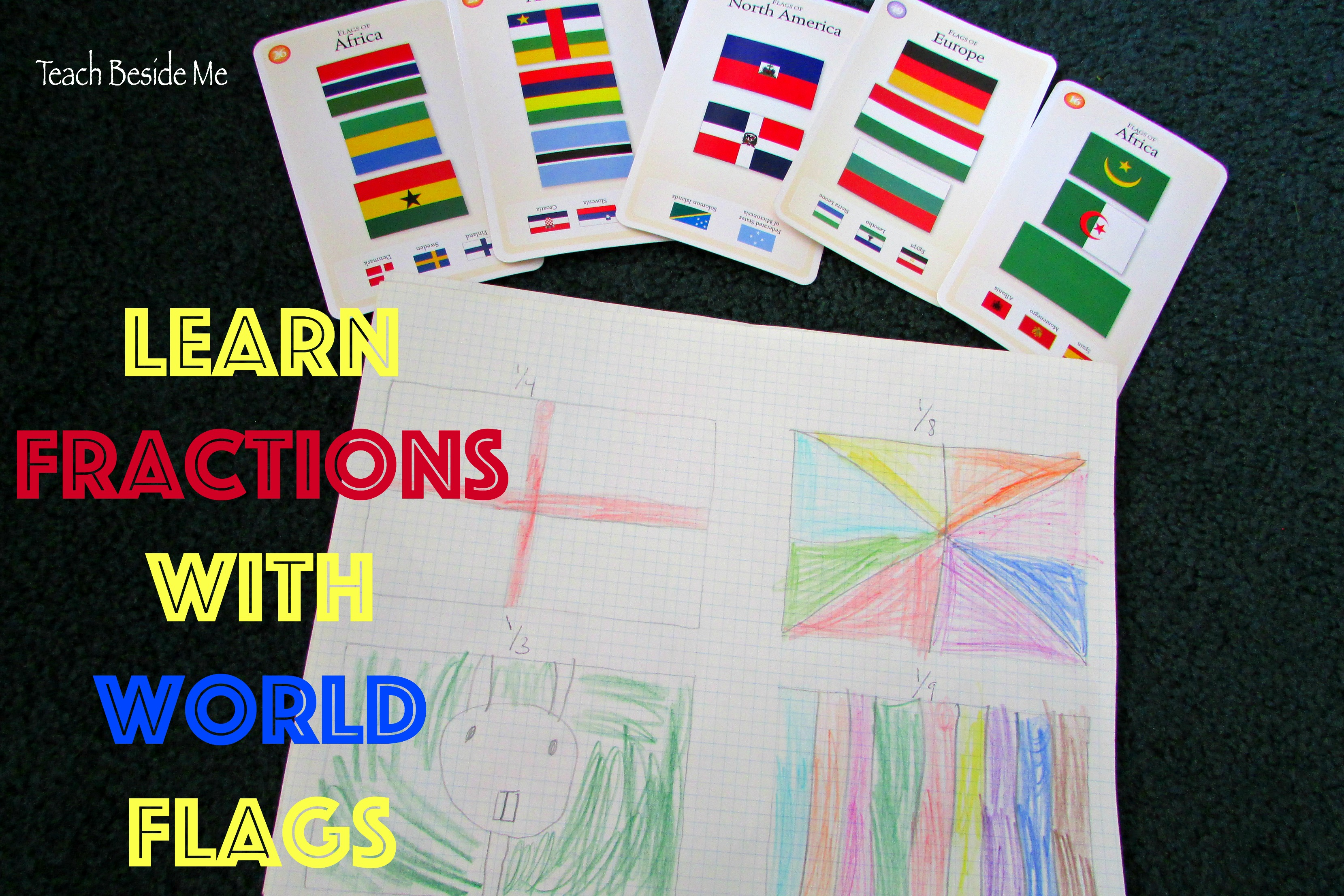 Learning Fractions With Flags