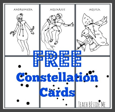 constellation cards printable