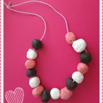 Valentine Clay Candy Necklace