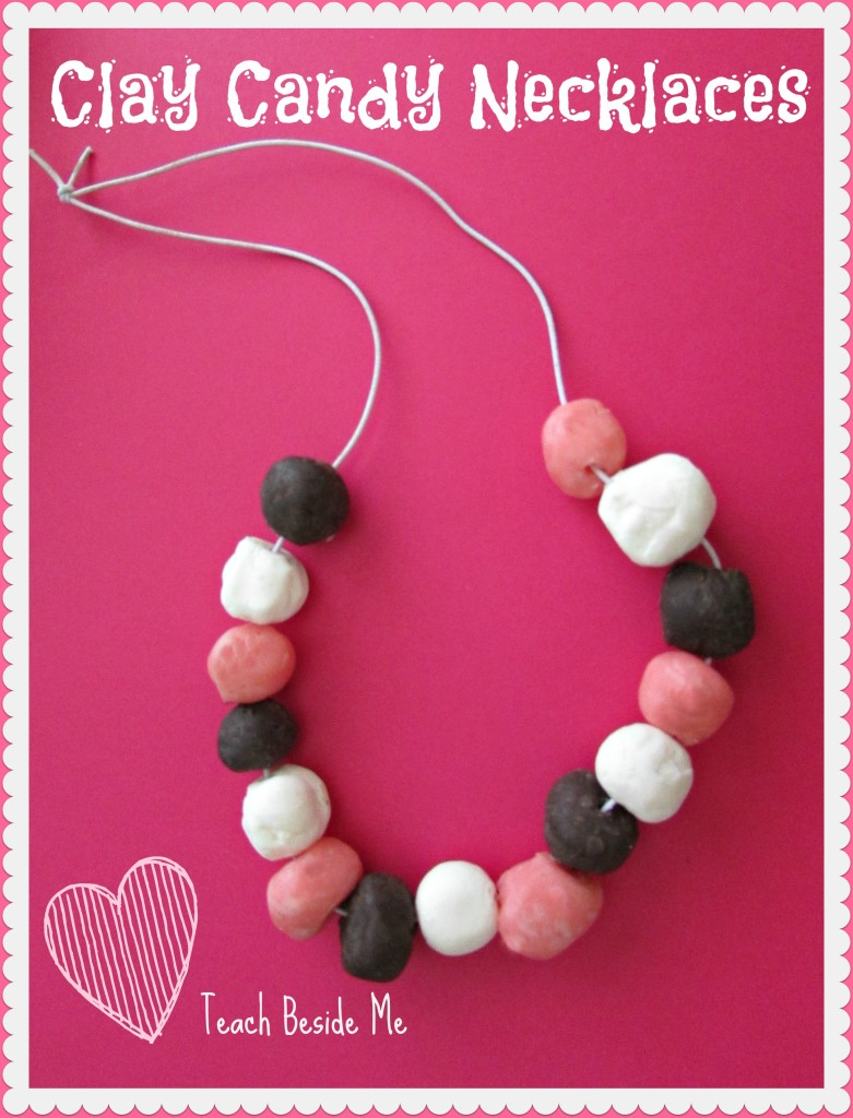 Homemade Clay Candy Necklaces