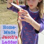 Homemade Jacob's Ladder Toy