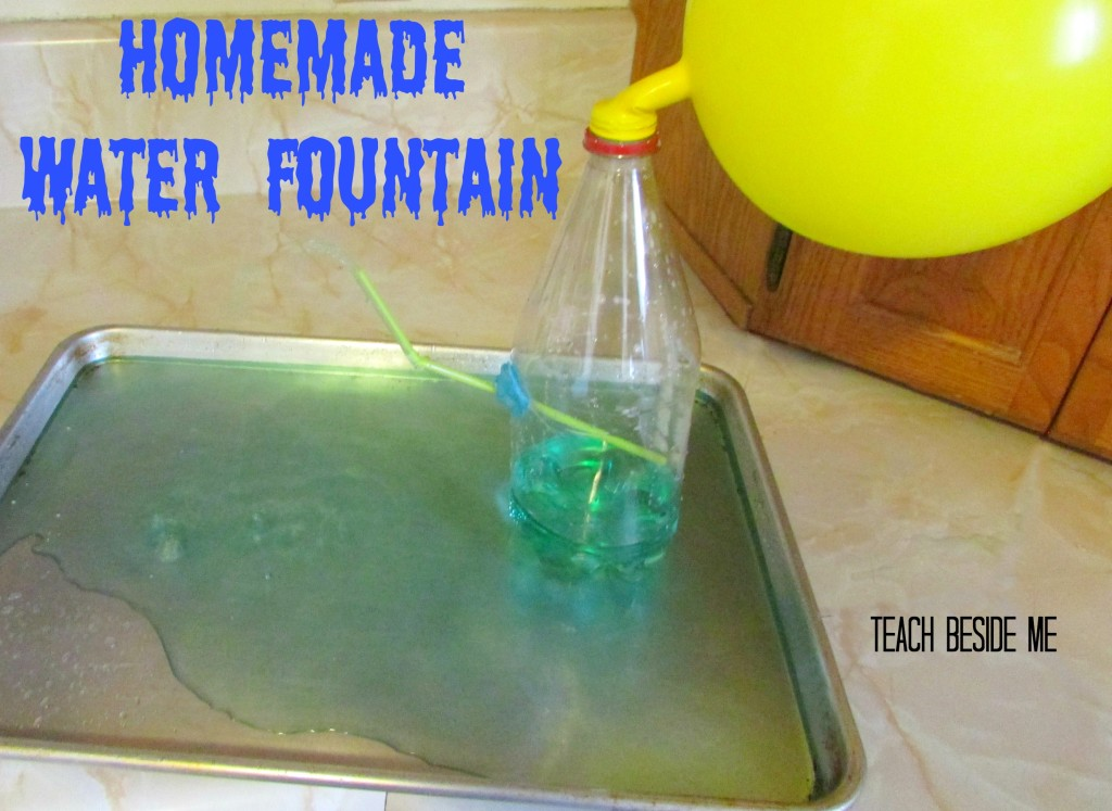 Homemade water fountain