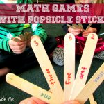 Popsicle Stick Math Games