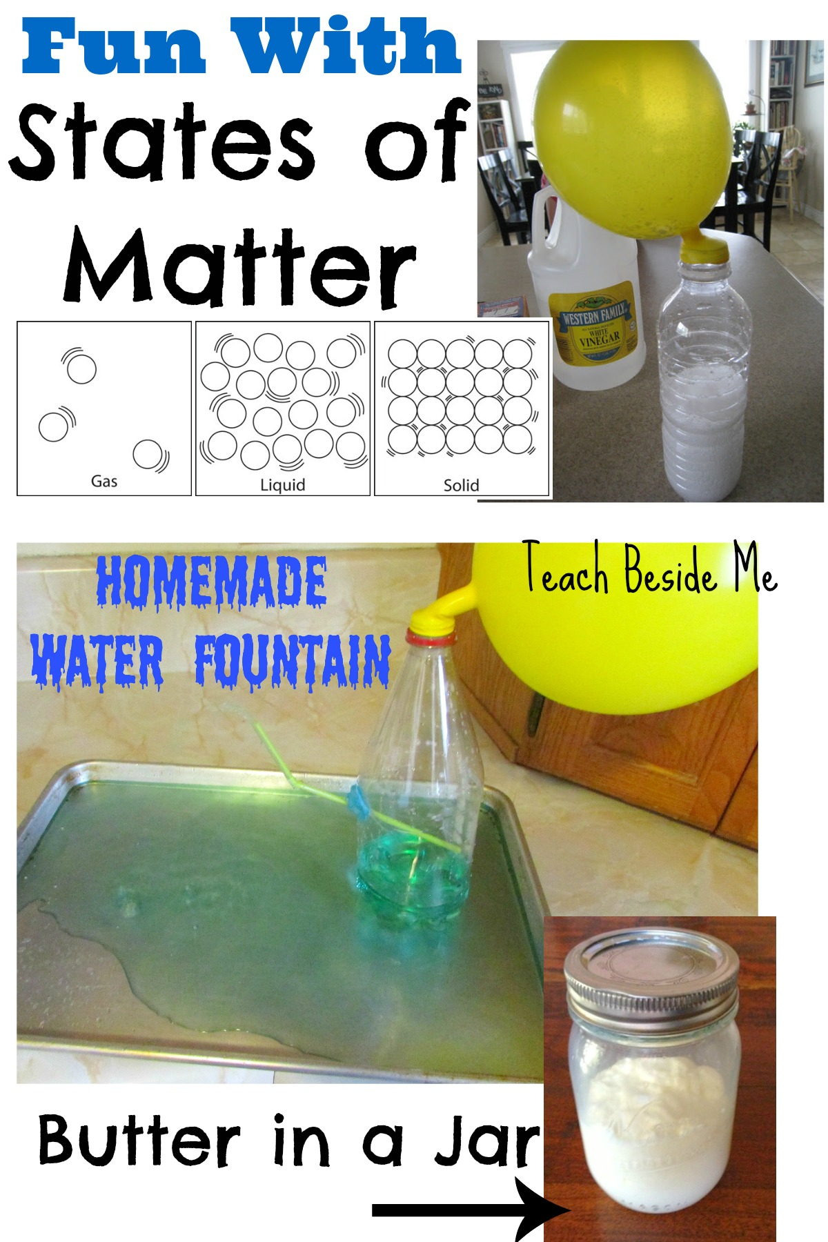 States of Matter ~ Solids, Liquids and Gases