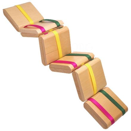 Homemade Jacobs Ladder Toy Teach Beside Me