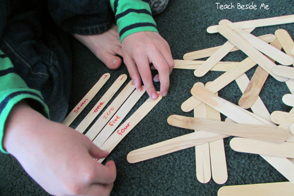 popsicle stick math