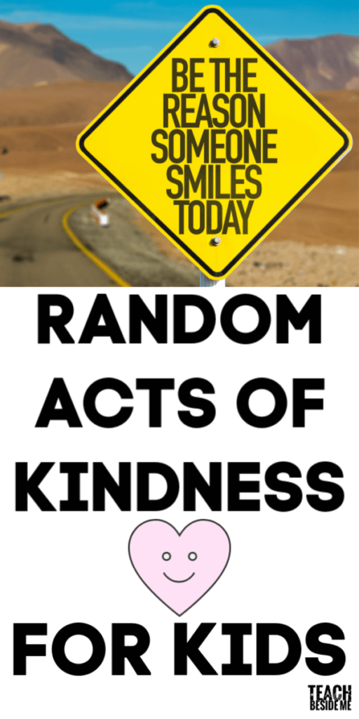 random acts of kindness kids can do