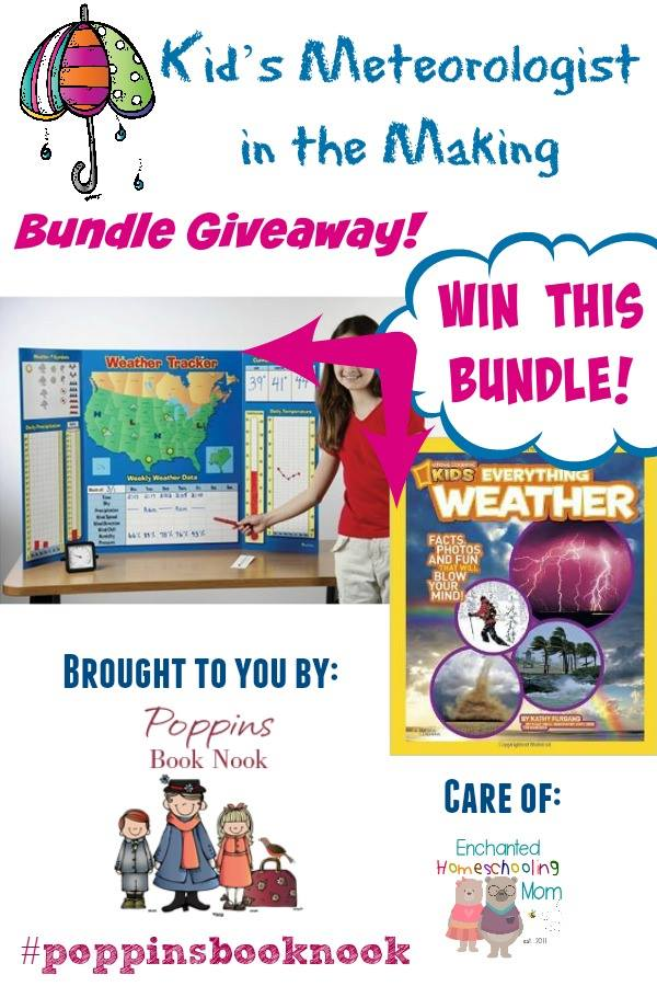 weather book nook giveaway