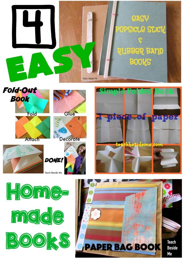 4 Easy Homemade Books