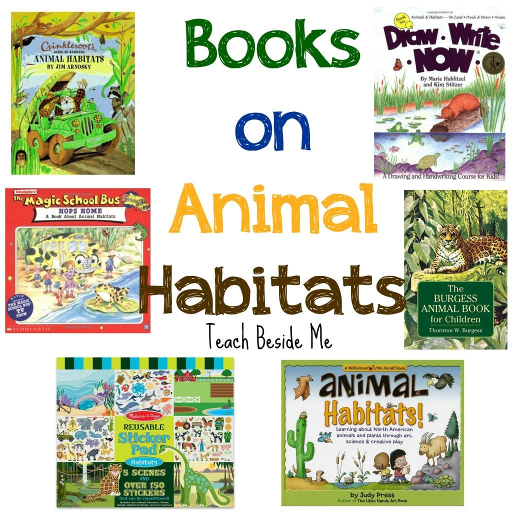 Books on Animal Habitats