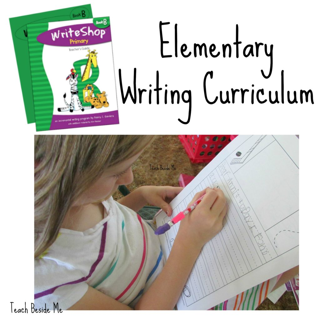 Elementary Homeschool Writing Curriculum