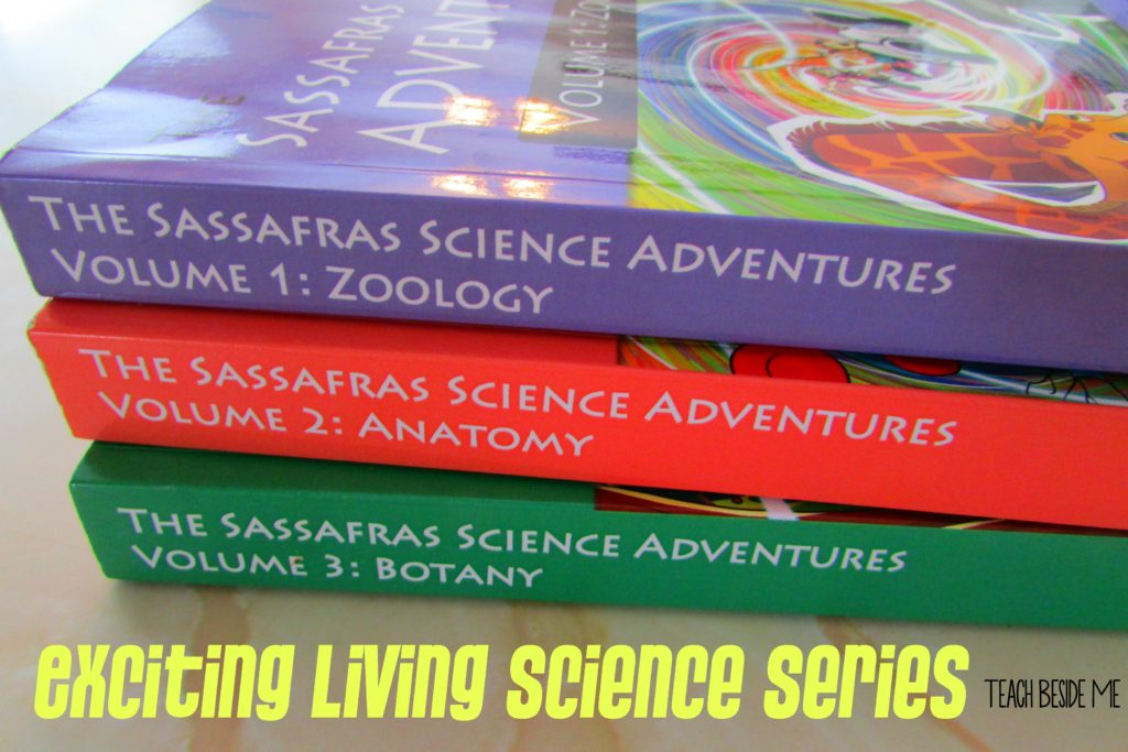 Exciting Living Science Book Series