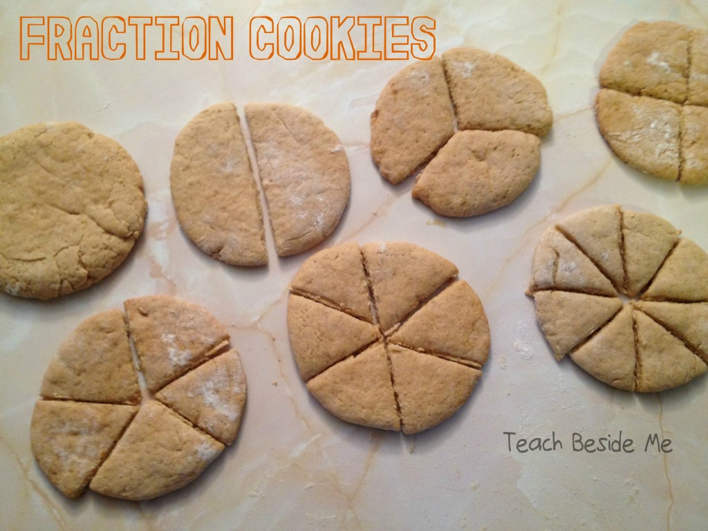 Fraction Cookies from Teach Beside Me