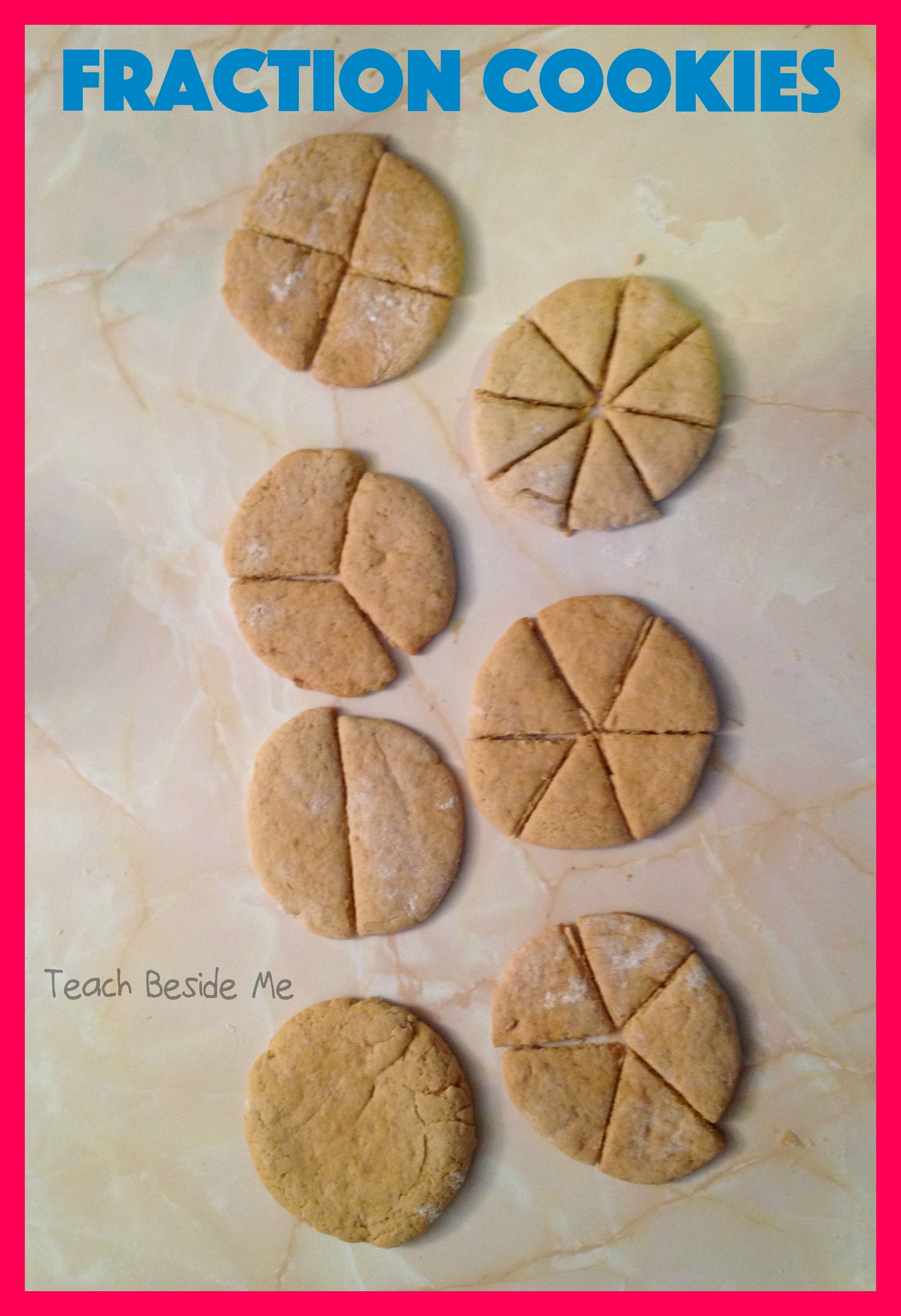 Learning Fractions With Cookies Teach Beside Me