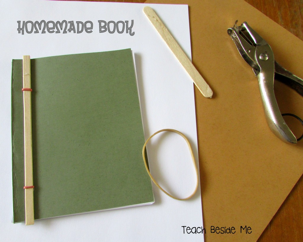 How To Make A Book Homemade ~ Easy homemade book teach beside me