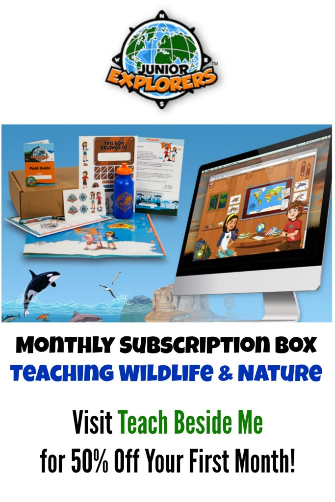 Junior Explorers Educational Subscription Box at Teach Beside Me