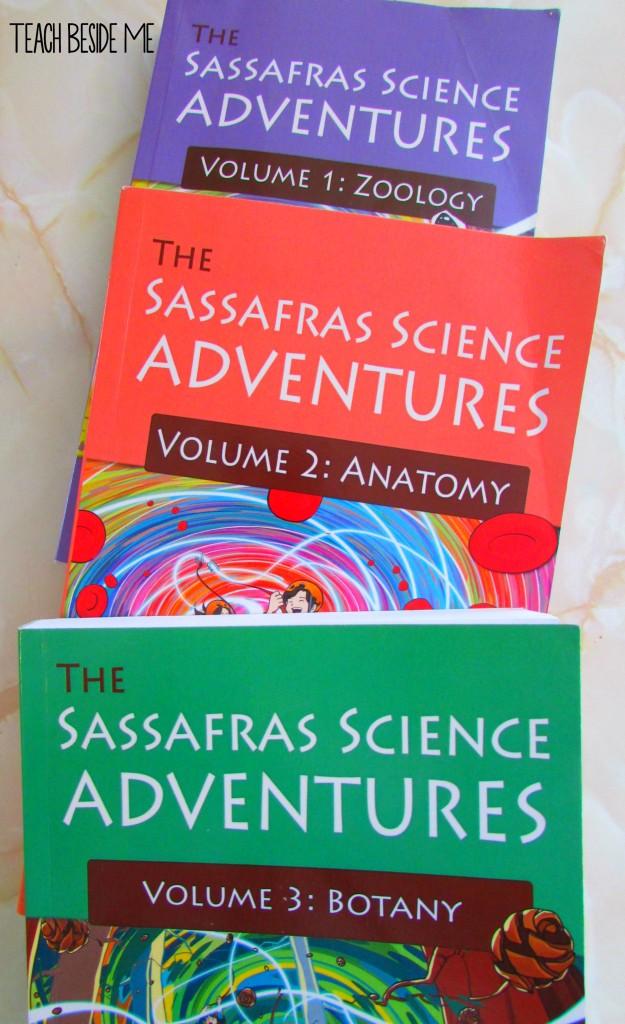 Sassafras Science Books