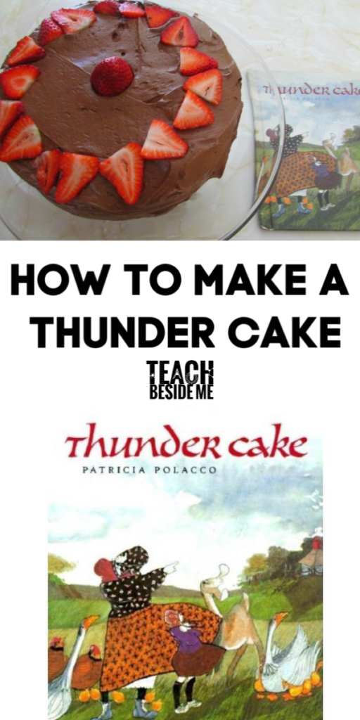 Thunder Cake book and recipe