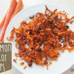 Cinnamon Carrot Chips