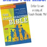 Kid's Early Readers Bible~ Giveaway!!
