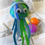 Easter Egg Jellyfish Craft