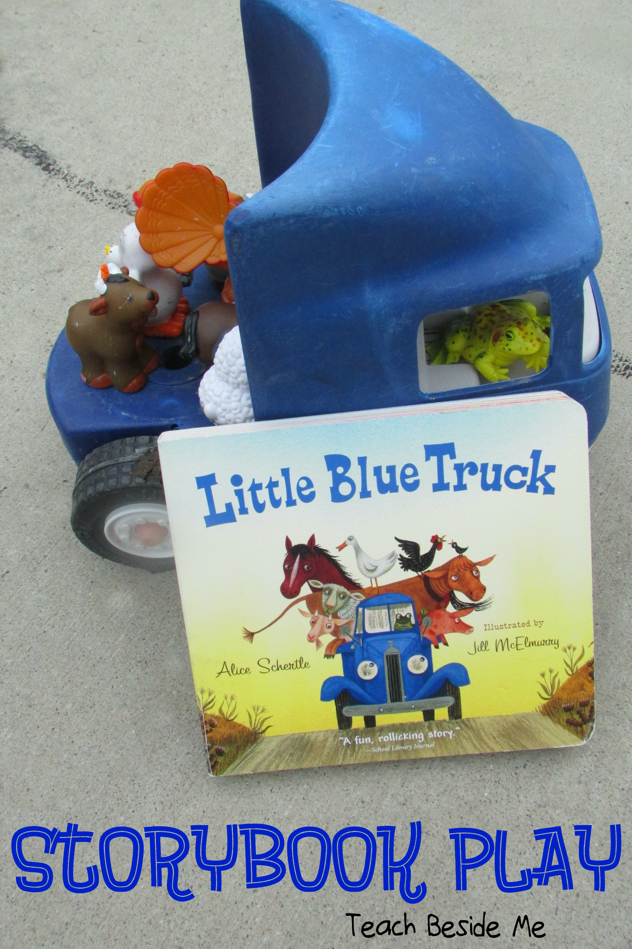 Little Blue Truck Story Play