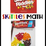 Skittles Math- With Printable
