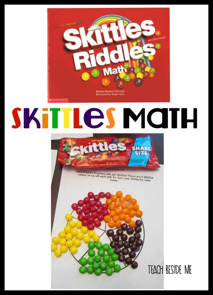 Skittles Math from Teach Beside Me